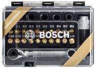 Sada šroubovacích bitů s ráčnou Bosch 27 dílů