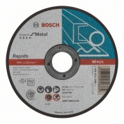 Dělicí kotouč rovný Bosch Expert for Metal – Rapido - AS 60 T BF, 125 mm, 1,0 mm