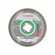 Kotouč dělící diamantový Bosch X-LOCK Best for Ceramic Extraclean 125×22,23×1,4×7