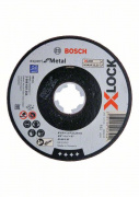Kotouč dělící plochý Bosch X-LOCK Expert for Metal 125x1,6x22,23 mm AS 46 S BF
