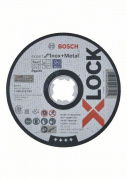 Kotouč dělící rovný Bosch X-LOCK Expert for Inox+Metal 125×1×22,23 AS 60 T INOX BF