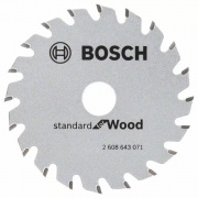 Kotouč pilový Bosch Optiline Wood 85x15 mm 20 zubů 2608643071