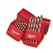 Vrtáky na kov Milwaukee Thunderweb sada 19 ks 1-10 mm 4932352374