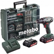 Aku vrtačka METABO BS 18 MD 2x2,0Ah