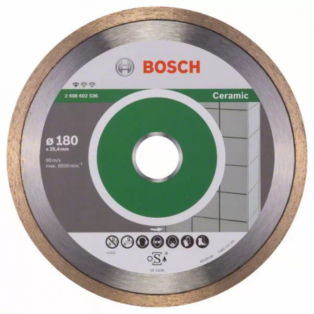 Diamantový dělicí kotouč Bosch Standard for Ceramic 230 mm 2608602538