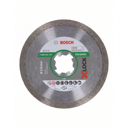 Kotouč dělící diamantový Bosch X-LOCK Standard for Ceramic 115 mm
