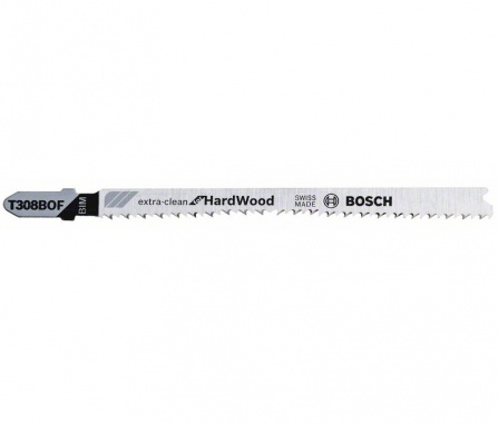 Pilový plátek do kmitací pily Bosch T 308 BOF - Extraclean for Hard Wood