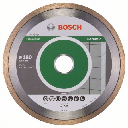 Diamantový dělicí kotouč Bosch Standard for Ceramic 180 mm