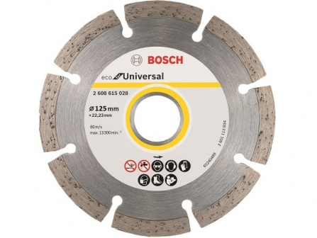 Kotouč dělící diamantový Bosch Eco for Universal 125 mm